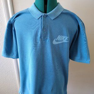 Nike Sportswear HBR Mens Polo Shirt Nike Spell Out